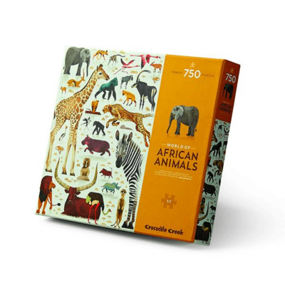 World of African Animals 750pc Puzzle