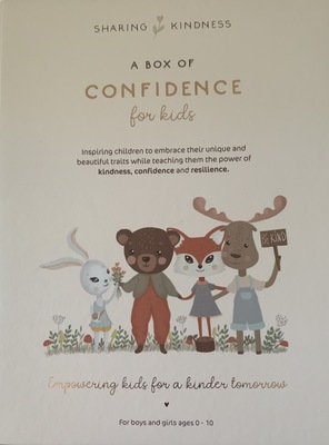 Sharing Kindness Cards: A Box of Confidence for Kids