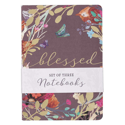 Set of 3 Notebooks: Blessed is She