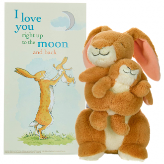 Guess How Much I Love You 25th Anniversary plush in box