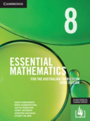 Cambridge Essential Mathematics for the Australian Curriculum Year 8 3rd Edition - SECONDHAND