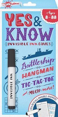 Yes & Know - Invisible Ink Games 8-88 2020 Edition