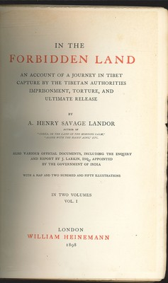 In the Forbidden Land Vol.I&II