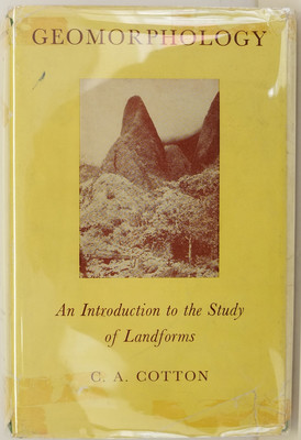 Geomorphology: An Introduction to the Study of Landforms