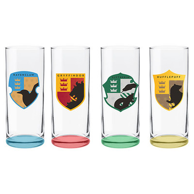 Large highball glasses set of 4 harry potter 84999 0536a