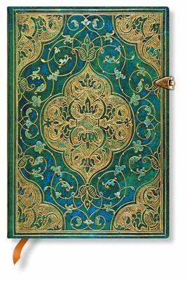 Paperblanks Journal - Turquoise Chronicles (Midi Lined)