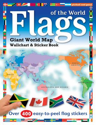 Flags of the World: Giant Wall Chart and Sticker Book