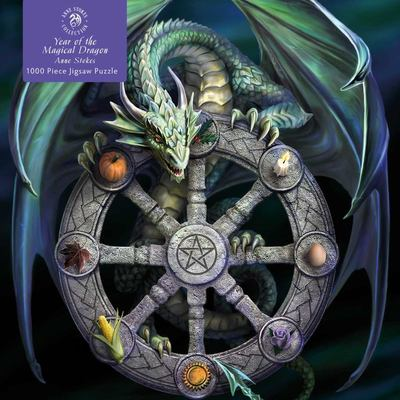 Adult Jigsaw Puzzle Anne Stokes: Wheel of the Year - 1000-Piece Jigsaw Puzzles