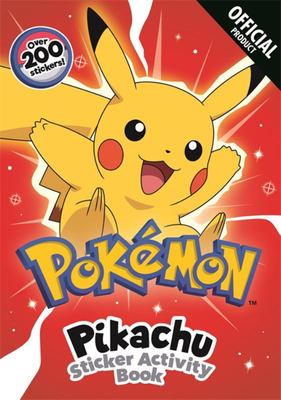 Pikachu Sticker Activity Book - With over 200 Stickers