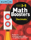 Math Boosters - Decimals (Grd 3-5 Kumon)