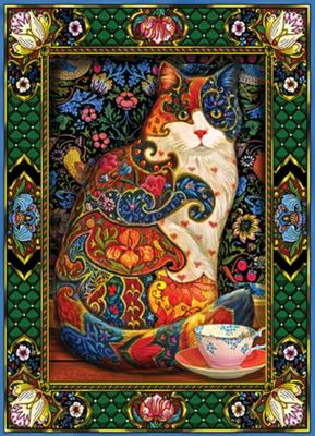 Painted Cat Jigsaw