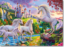 Unicorns & Castles Jigsaw