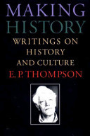 Making History - Writings on History and Culture