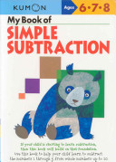 My Book of Simple Subtraction Ages 6-8 (Kumon)