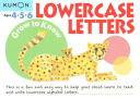 Grow to Know Lowercase Letters (Kumon)