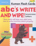 ABC's Write and Wipe!: Lowercase Letters (Kumon)
