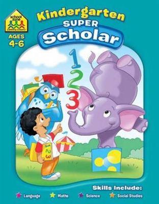 School Zone Kindergarten Super Scholar