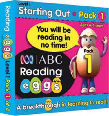 Starting Out Book Pack 1 - ABC Reading Eggs Level 1 (4-6 years)