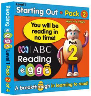 Starting Out Book Pack 2 - ABC Reading Eggs Level 1 (4-6 years)