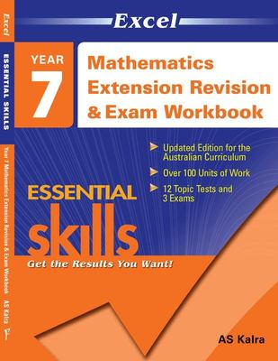 Year 7 Maths Extension Revision & Exam Workbook 2: Essential Skills