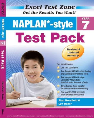 Year 7 NAPLAN*-style Test Pack - Excel Test Zone