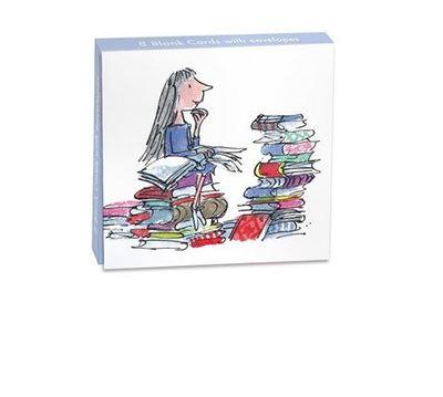 Matilda on Books Mini Card