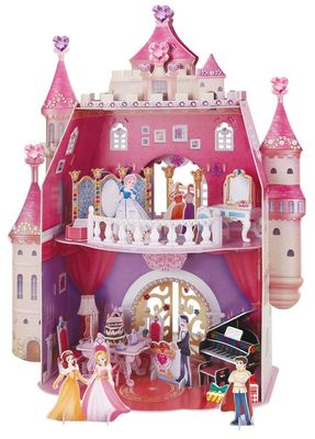 3D Princess Birthday Party Castle