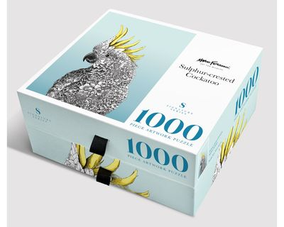 Crested Cockatoo: 1000-Piece Jigsaw Puzzle Signature Series
