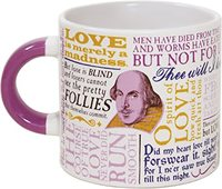 Homepage shakespeare love mug