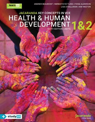 Jacaranda Key Concepts in VCE Health and Human Development, Units 1&2 (6E)