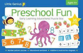 Little Genius Early Learning Puzzle Box - Preschool Fun