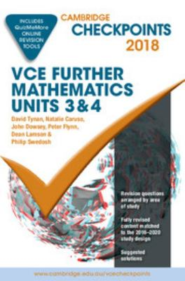Cambridge Checkpoints VCE Further Maths