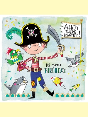 Card - Ahoy There Matey SCRIB14