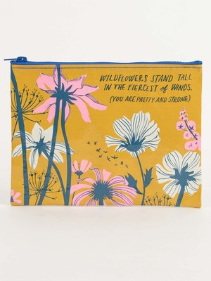 Wildflowers Stand Tall Pouch