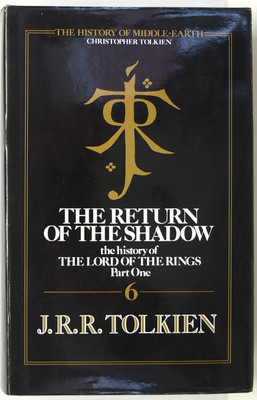 The Return of the Shadow - The History of the Lord of the Rings, Part One