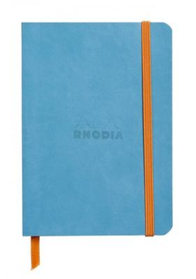 Rhodiadiarama A6 Softcover Notebook  Lined - Turqouoise