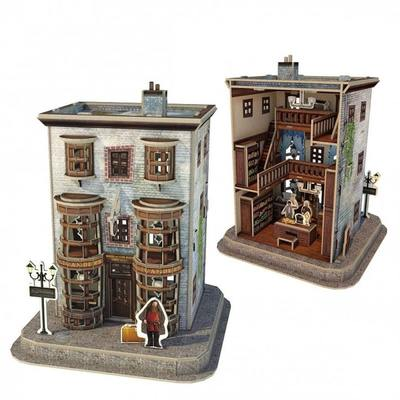 Ollivanders Wand Shop 3D Puzzle - Harry Potter