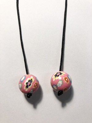 Book thong - Fimo ball - various colours