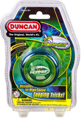 Duncan Yo Yo Intermediate Hornet Pro Looping Yo Yo (Assorted Colours)