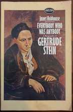 Homepage maleny bookshop   everybody who was anybody   a biography of gertrude stein