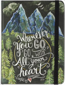 Wherever You Go, Go with All Your Heart Journal (Diary, Notebook)