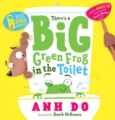 There's a Big Green Frog in the Toilet (HB + CD)