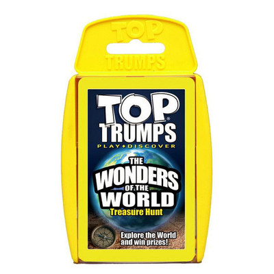 Top Trumps: Wonders of the World
