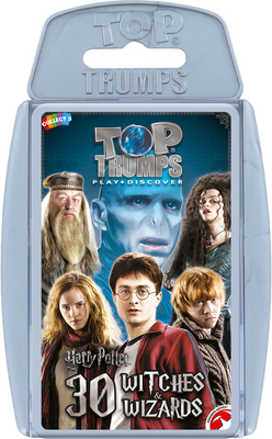Top Trumps: Harry Potter - 30 Witches and Wizards