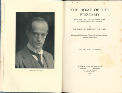The Home of the Blizzard (Abridged Popular Edition)