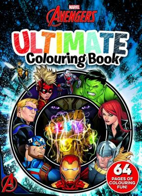 Avengers Classic: Ultimate Colouring Book (Marvel)