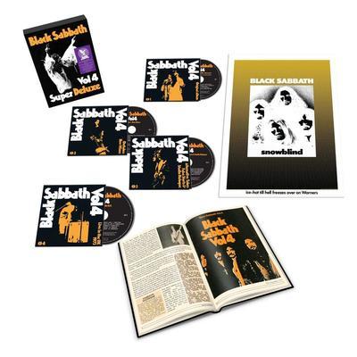 Black Sabbath Vol.4 Super Deluxe CD Boxset