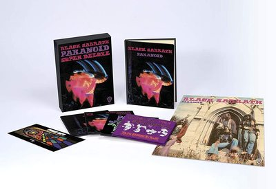 Black Sabbath Paranoid Super Deluxe CD Boxset