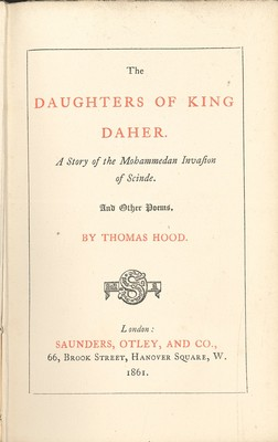The Daughters of King Daher and other poems