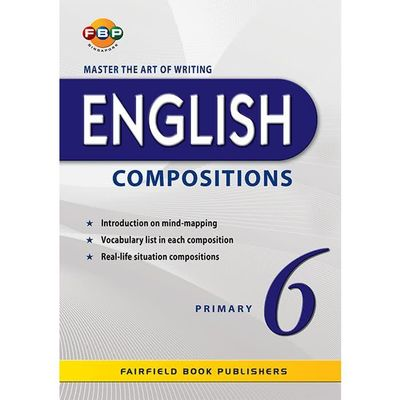 Master the Art of Writing English Comp : Bk 6
